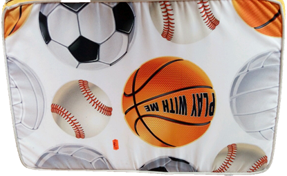 Billede af Skumpude med fodbold 40x55 cm.